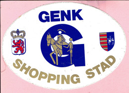 Sticker - GENK SHOPPING STAD - Autocollants