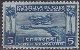 Cuba, Scott #C1, Used, Seaplane Over Havana Harbor, Issued  1927 - Aéreo