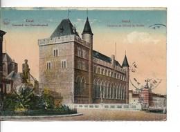 GAND Chateau De GERARD Le DIABLE / CPA Couleurs N° 100.10 Voyagée Timbre Décollé !! / état Acceptable - Gent