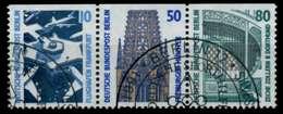 BERLIN ZUSAMMENDRUCK Nr W85 Gestempelt 3ER STR X74B5D2 - [5] Berlino