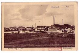 Ak Fürstenberg (Oder) 1927 Glasindustrie - Ohne Zuordnung