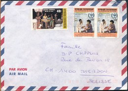°°° POSTAL HISTORY CENTRAL AFRICAN REPUBLIC 1988 °°° - Repubblica Centroafricana
