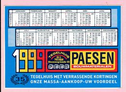 Sticker - Tegelhuis PAESEN - Steenweg Linde - 1999 - Peer - Houthalen - Wijchmaal - Autocollants