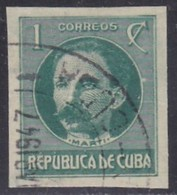 Cuba, Scott #280, Used, Jose Marti, Issued  1926 - Used Stamps