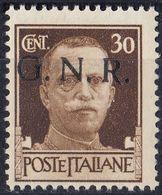 REPUBBLICA SOCIALE ITALIANA - 1944 - Yvert 6, Nuovo MNH, Come Da Immagine. - 4. 1944-45 Sozialrepublik