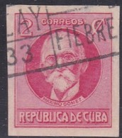 Cuba, Scott #281, Used, Maximo Gomez, Issued  1926 - Used Stamps