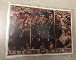 Germany Post Card SS RRR 1937-39 Nazi Propaganda VF XF Condition - Germany