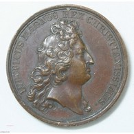 Médaille LOUIS XIV 1675 Prise De Limbourg - Francia