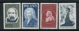 Iceland 1975 Famous Icelanders FU - Unused Stamps