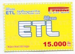 TK 14405 LAOS - Prepaid - Laos