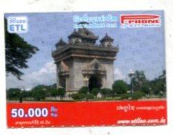 TK 14408 LAOS - Prepaid - Laos