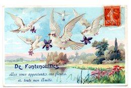 De Fontenouilles Elles Vous Apportent Ces Fleurs - France