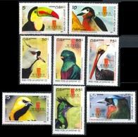 2011Cuba5510-17Birds6,00 € - Perroquets & Tropicaux