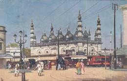 CALCUTTA , India , 1907 ; Dhurmtollah Musjid ; TUCK - India