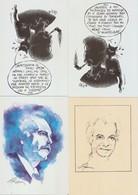 21 CARTES Georges BRASSENS -  - Illustrateur Géo Thiercy Et Autre - Künstlerkarten