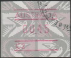 AUSTRALIA - USED  1992 45c Emu Paper Frama Label - Birds - 1990-99 Elizabeth II
