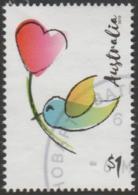 AUSTRALIA - USED 2019 $1.00 Moments To Treasure - Bird And Heart - 2010-... Elizabeth II