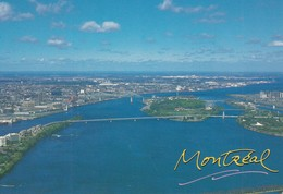 Vue Aerienne De Montreal, An Aerial View Of Montreal - Montreal