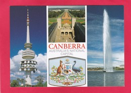 Modern Multi View Post Card Of Canberra, Australian Capital Territory, Australia,L62. - Canberra (ACT)