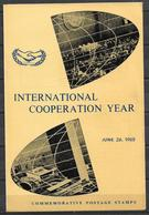 PAKISTAN 1965 BROCHURE WITH STAMPS INTERNATIONAL COOPERATION YEAR - Pakistan