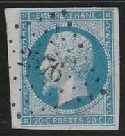 PETITS CHIFFRES - JURA - PRESSIGNY LE GRAND - PC 2576 - 1849-1876: Période Classique