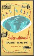 PAKISTAN 1967 BROCHURE WITH STAMP INTERNATIONAL TOURIST YEAR - Pakistan
