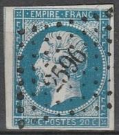 PETITS CHIFFRES - LOT ET GARONNE - PUYMIROL - PC 2596 - Storia Postale (Francobolli Sciolti)