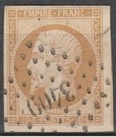 PETITS CHIFFRES - HAUTE SAONE - TRAVES - PC 3409 - 1849-1876: Période Classique