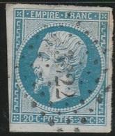PETITS CHIFFRES - GARD - VILLENEUVE LES AVIGNONS - PC 3622 - 1849-1876: Période Classique