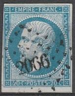 PETITS CHIFFRES - JURA - MONTBARREY - PC 2066 - Storia Postale (Francobolli Sciolti)