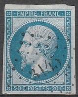 PETITS CHIFFRES - PYRENEES ORIENTALES - ST LAURENT DE CERDANS - PC 3145 - 1849-1876: Période Classique