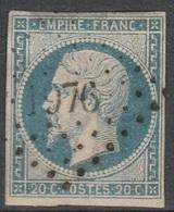 PETITS CHIFFRES - OISE - LE MESNIL ST FIRMIN - PC 1976 - 1849-1876: Période Classique