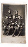 PHOTO-CARTE - Groupe De Militaires à Identifier (I21) - Fotografie