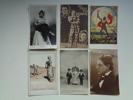 Beau Lot De 20 Cartes Postales Thème ( Thema ) : Cirque (circus)  Nu (naakt)  Nain ( Lilliputier )  Zoo Gaston Roelant - Postkaarten