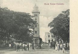 SRI LANKA---CEYLON--CEYLAN---clock Tower Colombo--voir 2 Scans - Sri Lanka (Ceylon)