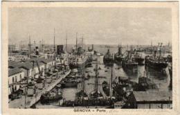 41mo 644 CPA - GENOVA PORTO - Genova (Genoa)