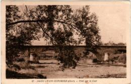 41mth 331 CPA - SAINT AMAND MONTROND - PONT SUR LE CHER - Saint-Amand-Montrond