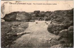 41il 726 CPA - SION DE L'OCEAN - VUE D'ENSEMBLE DES PRINCIPAUX ROCHERS - Sonstige Gemeinden