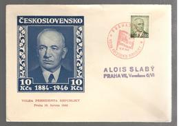 25661 - VOLBA PRESIDENTA REPUBLIKY - Tchécoslovaquie