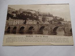 Namur - Pont De Meuse. - Namur