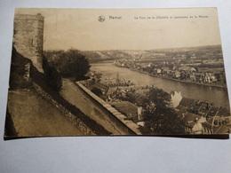 Namur - Citadelle - La Tour De La Citadelle Et Panorama De La Meuse. - Namur