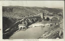 Toledo - Tajo Y Puente De San Martin - Le Taje Et Le Pont Saint Martin - Toledo