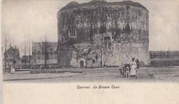 TOURNAI / LA GROSSE TOUR /  ATTELAGE CHIEN  1906 - Tournai