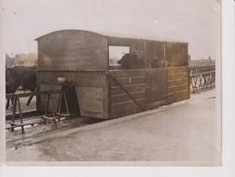 QUAINTEST RAILWAY BALLYBUNION IRELAND DUBLIN COURT TRAIN TREN CHEMIN DE FER 20*15CM Fonds Victor FORBIN 1864-1947 - Trenes