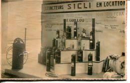 N°71 T -carte Photo Sur Carton épais -stand Foire Exposition De Caen- - Caen