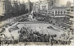 7-(215)VALENCIA-PLZA DEL CAUDILLO EN DIA DE FALLES - Spagna