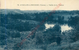 86.  AVAILLES LIMOUSINE .  Vallée De La Vienne . - Availles Limouzine