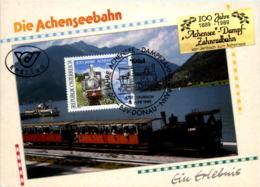 100 Jahre Achsenseebahn - Achenseeorte