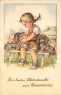 Geburtstag - Kind Mit Hund - Compleanni