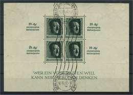 DEUTSCHES REICH 1937 Bl.11 Gestempelt (118084) - Deutschland